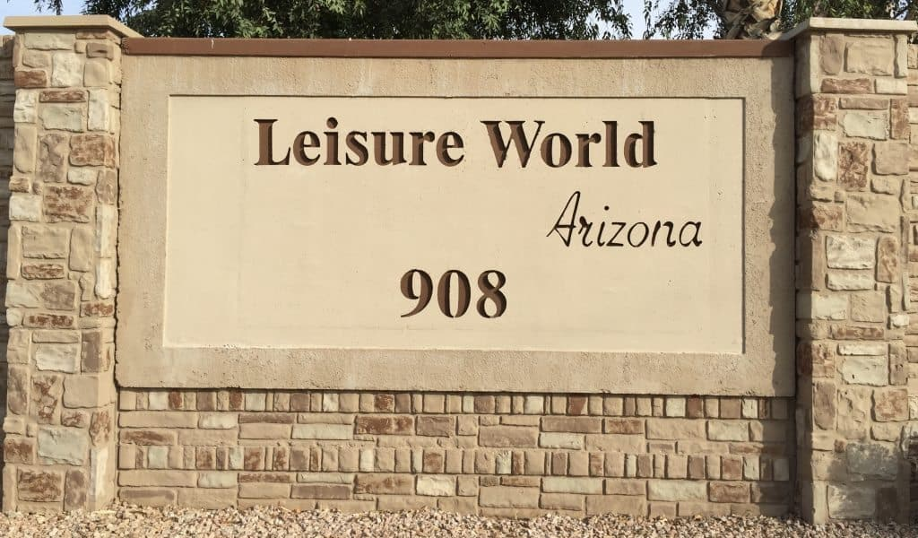 Welcome to Leisure World Arizona