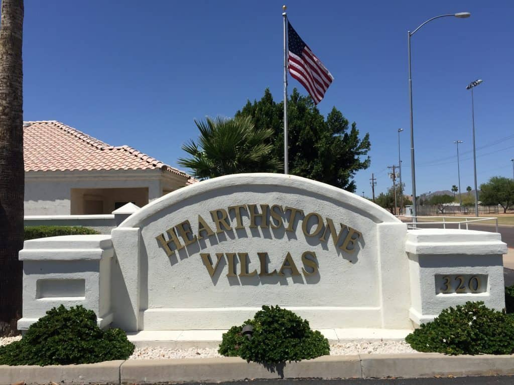 Welcome to Hearthstone Villas 55 Plus Community