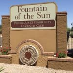 Fountain of The Sun Mesa AZ 55 Plus Communities