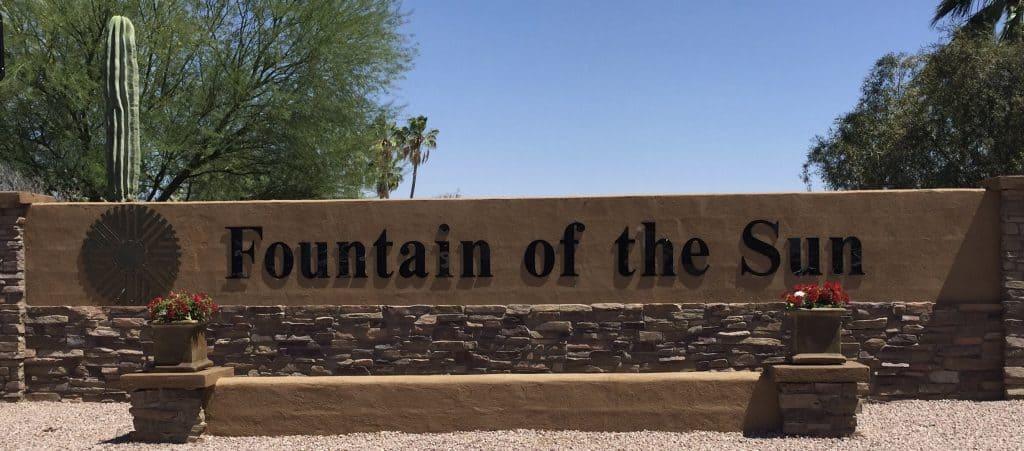 Fountain Of The Sun Arizona Retirement Communities