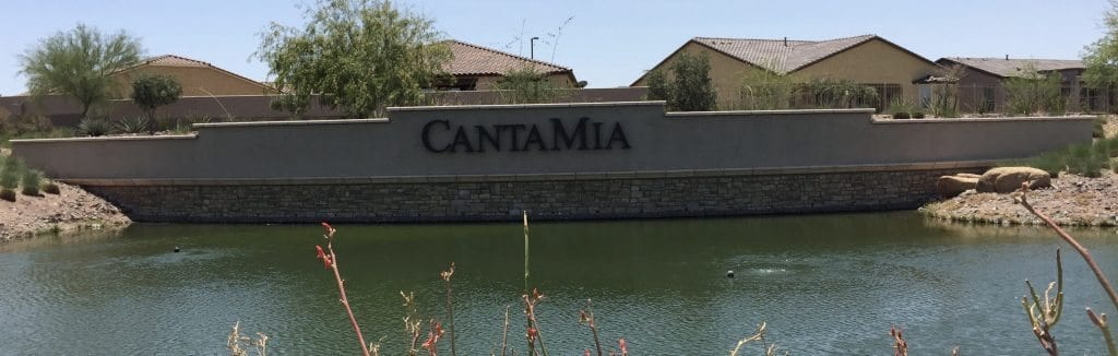 Welcome to CantaMia Estrella a Arizona 55 Plus community