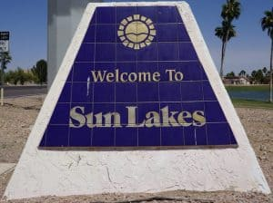 Sun Lakes AZ Condo Home Search
