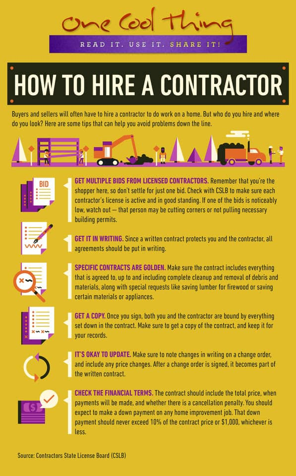 6 Tips For Hiring Contractors