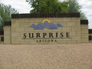 Welcome To Surprise Arizona