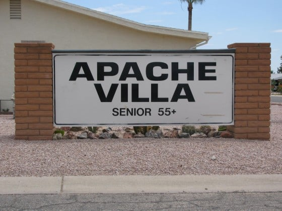 Welcome to Apache Villa - Arizona Retirement Community