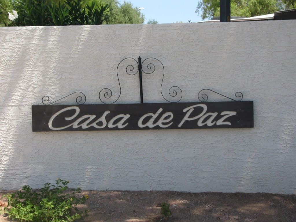 Welcome to Casa De Paz 55+ community