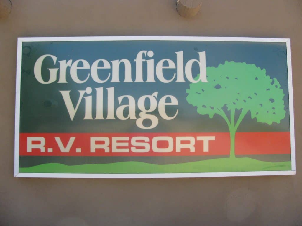 Greenfield Village Rv Resort Arizona 55 Plus Communities