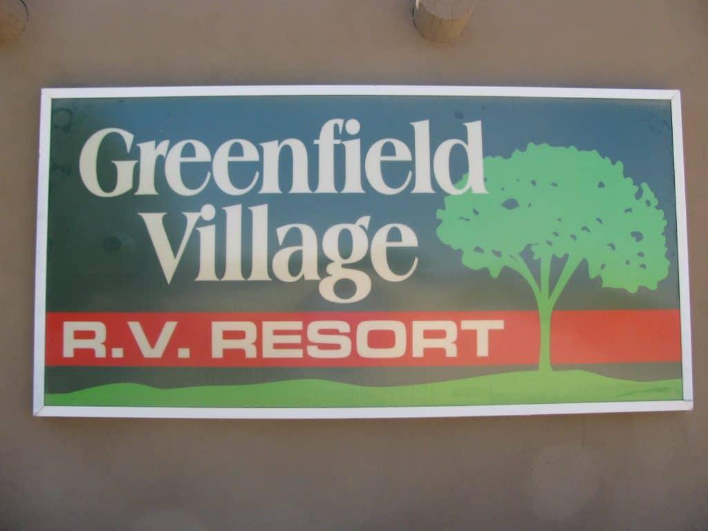 Greenfield Village Rv Resort Arizona 55 Plus Communities