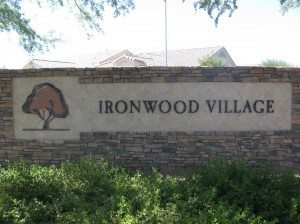 Welcome to Ironwood Village 55 plus community