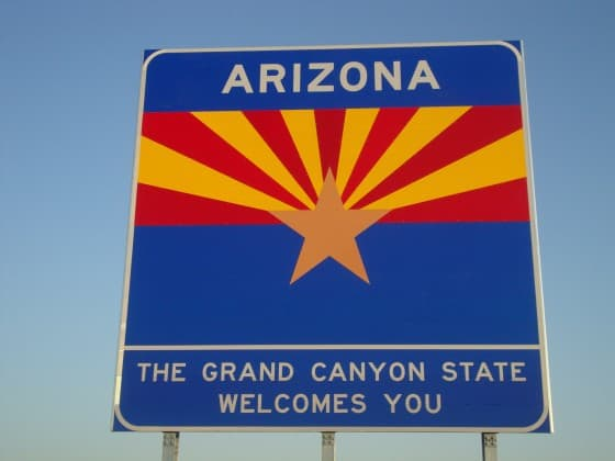 Welcome to Arizona - The Grand Cayon State